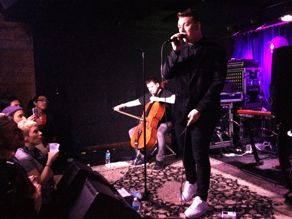 Sam Smith performs at South Philly´s Boot & Saddle on Friday March 21, 2014. (Photo: Colin Kerrigan)
