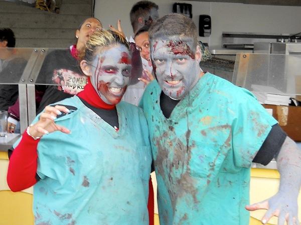 2nd annual Zombie Mud Run 5k in Wildwood, NJ - Saturday, October 12, 2013. (Megan Schmidt / For Philly.com)
