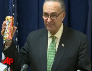 Senator Schumer does not drink Four Loko