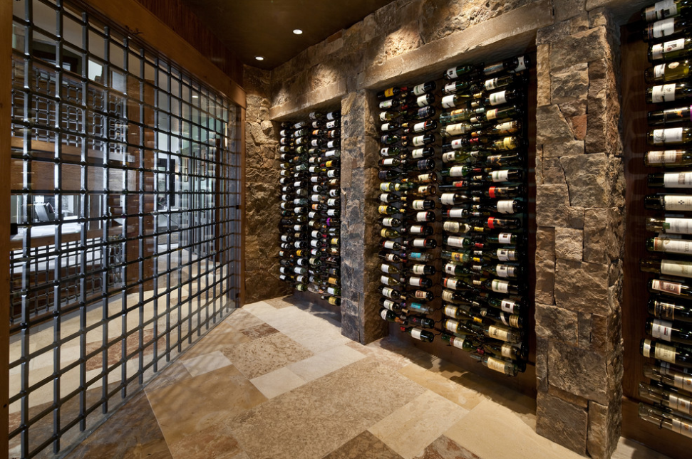 Wine cellars overflowing with artful storage philly for Home wine cellar designs