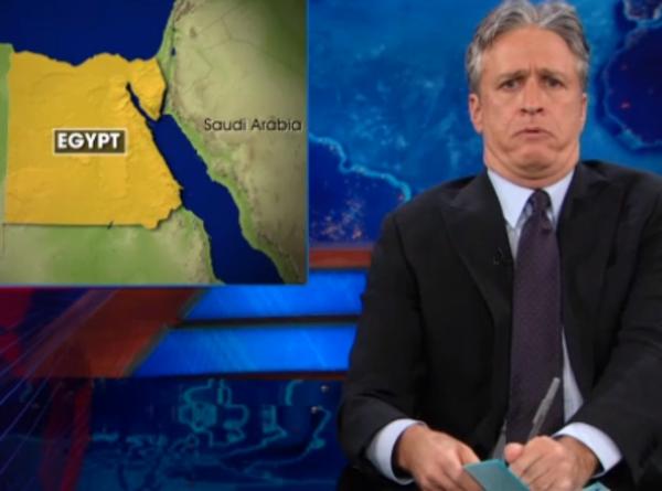 VIDEO: Jon Stewart defends Bassem Youssef, the 'Egyptian Jon Stewart'