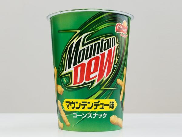 Japan's Mountain Dew Cheetos