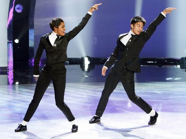 "Jasmine and Marko perform a Jazz routine choreographed by Ray Leeper on season 10 of ""So You Think You Can Dance?"" (Photo via FOX)"