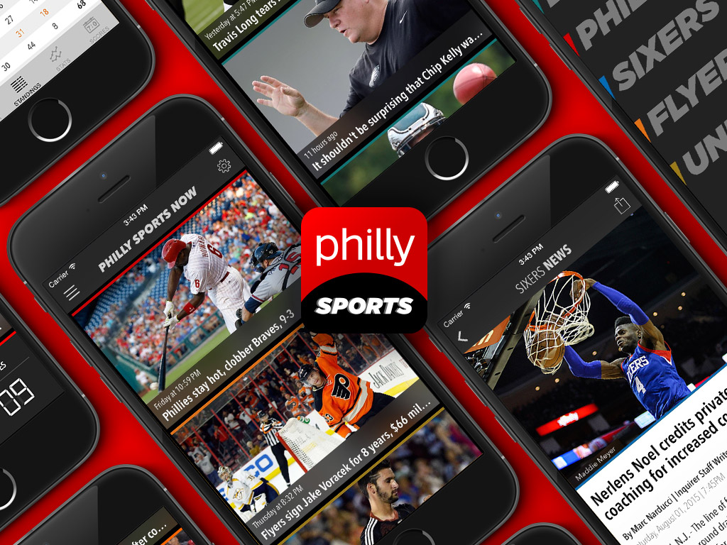 Introducing Our Philly Sports Now App For Iphone