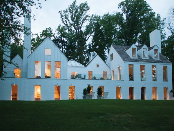 This Meadowbrook home, designed by Hugh Newell Jacobson, is on the market for the first time for $1.8 million.