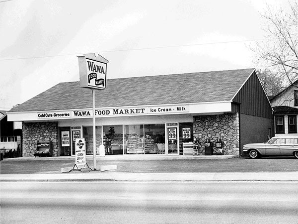 The first Wawa store, which opened in 1964 in Delaware County is closing. (Courtesy of Wawa)