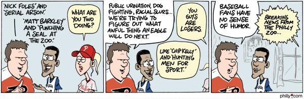 Cartoon by Rob Tornoe and Justin Klugh