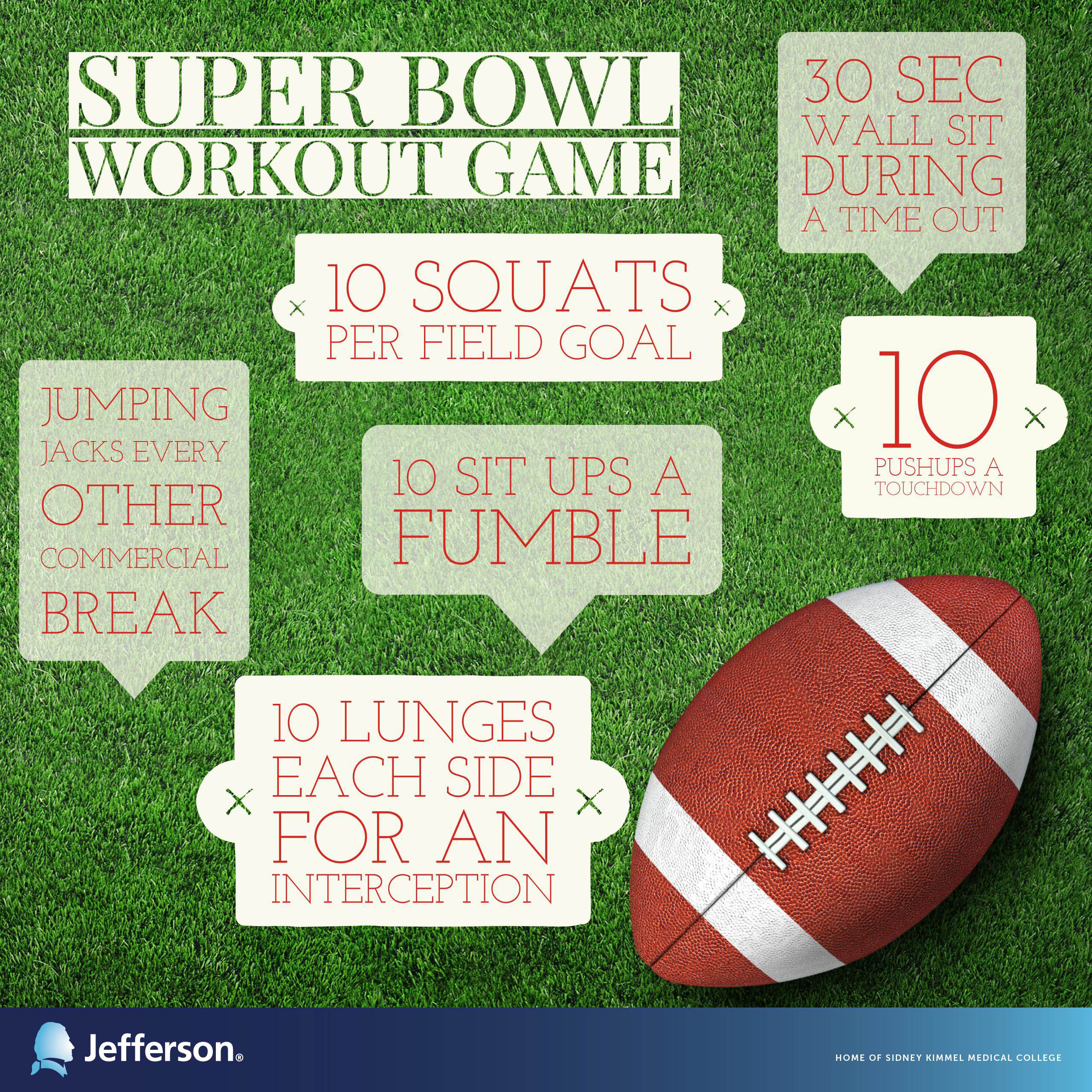 Workout Games: A Super Bowl Fitness Challenge