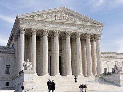 The current consensus seems to be that the Court will rule against the law's mandate that all individuals have health insurance. A survey of former Supreme Court clerks and attorneys who practice before the Court found 57 percent expecting that outcome. (AP Photo/J. Scott Applewhite)