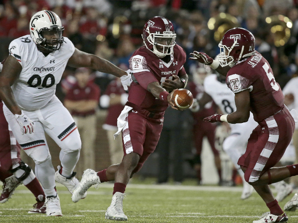 Temple football wins second game of season