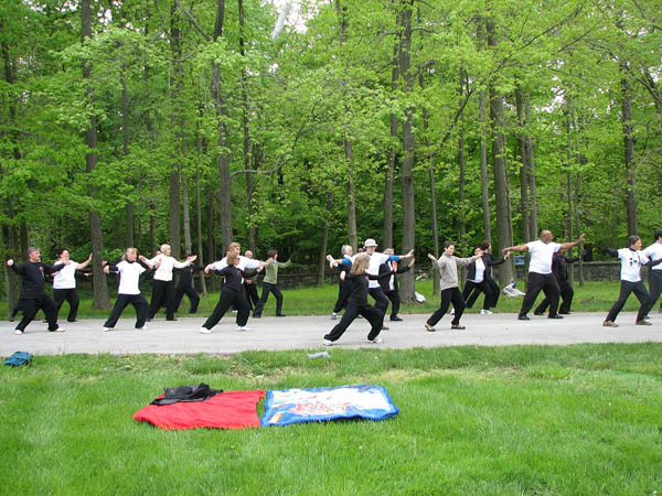Mount Cuba Center offers an introductory tai chi class every Wednesday morning from May 7 through June 11. (Photo courtesy of Mount Cuba Center)
