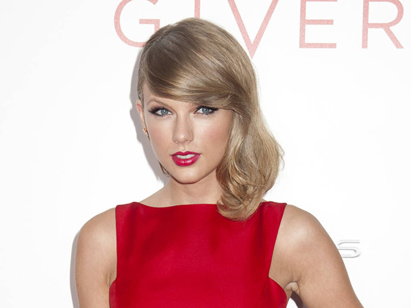 Taylor Swift attends the New York Premiere of ´The Giver´ at Ziegfeld Theater.
