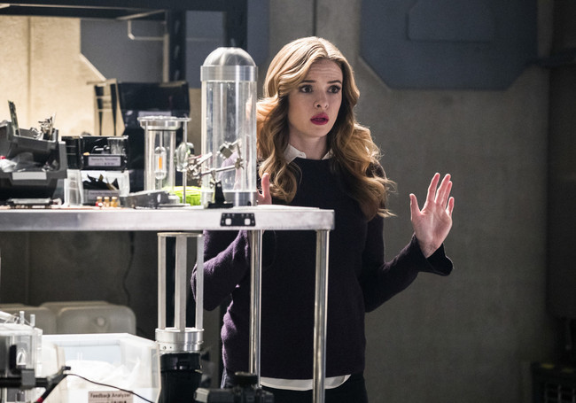 "Danielle Panabaker in ""The Flash."""