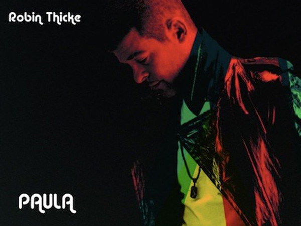 "Robin Thicke´s album cover for ""Paula"""