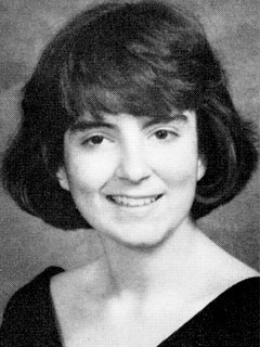 Tina Fey in her 1988 Upper Darby High School yearbook photo.
