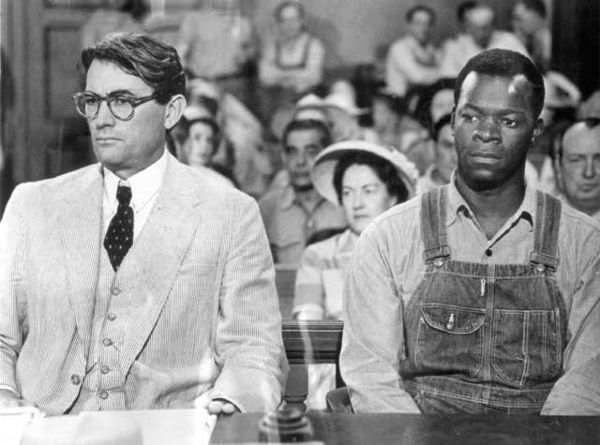 "Peck and Peters in ""To Kill a Mockingbird"""