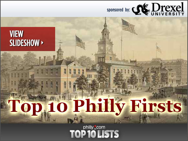 "Thanks to Benjamin Franklin, Philadelphia´s made history with many ""firsts,"" including the first hospital, university and volunteer fire company in the United States. Here´s 10 other Philly Firsts you may not know about."