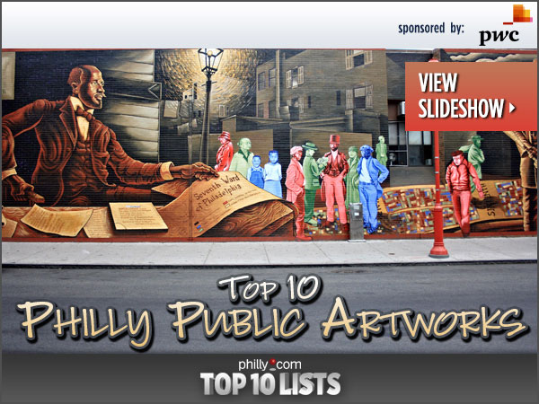 Philadelphia is a city filled with art no matter where you turn. Here are five public artworks nearly everyone knows and five more that they should.