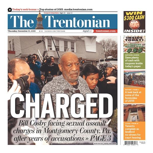 Boston Globe Front Page – Name