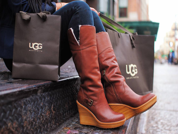 UGG women´s boot line. (Photo via Facebook)