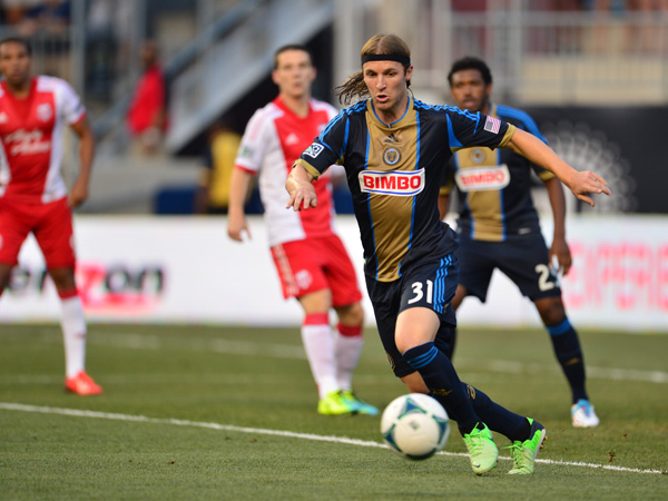 Jeff Parke for the Philadelphia Union.