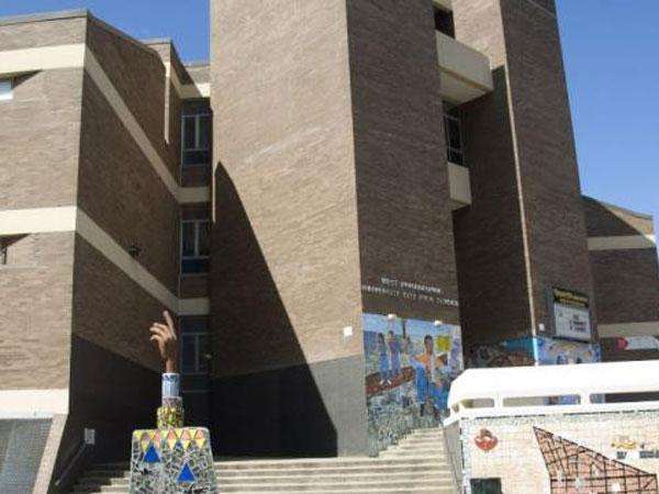 University City High School closed last year. (AxisPhilly)