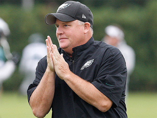 Eagles coach Chip Kelly. (David Maialetti/Staff Photographer)