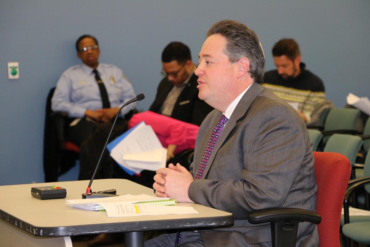 Philadelphia School District Chief Financial Officer Uri Monson spoke about the district´s proposed $2.9 billion budget last month.