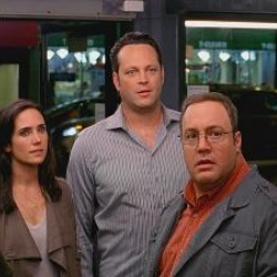 "Jennifer Connelly, Vince Vaughn and Kevin James in a scene from ""The Dilemma."""
