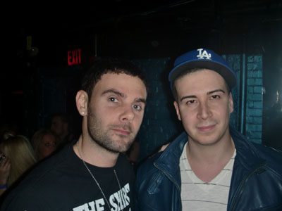 "Q102´s Rocco with Vinny of ""Jersey Shore"""