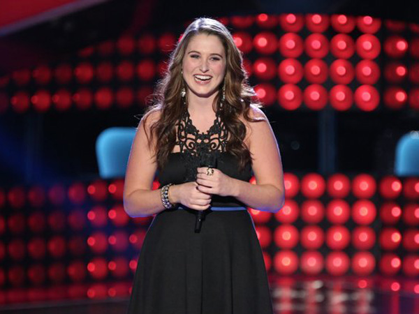 """The Voice"" contestant Audra McLaughlin. (Photo by: Tyler Golden/NBC)"