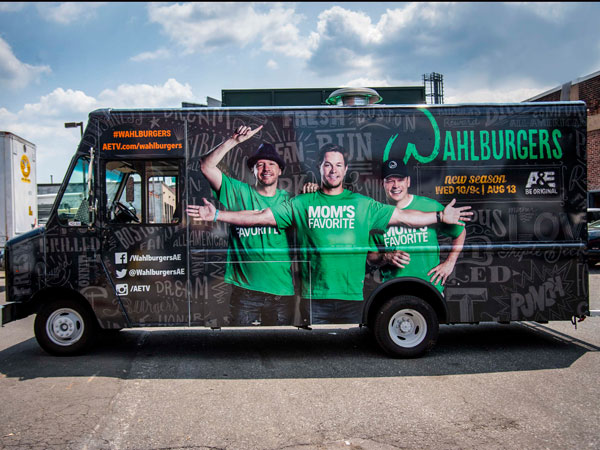 Wahlburgers on Wheels.