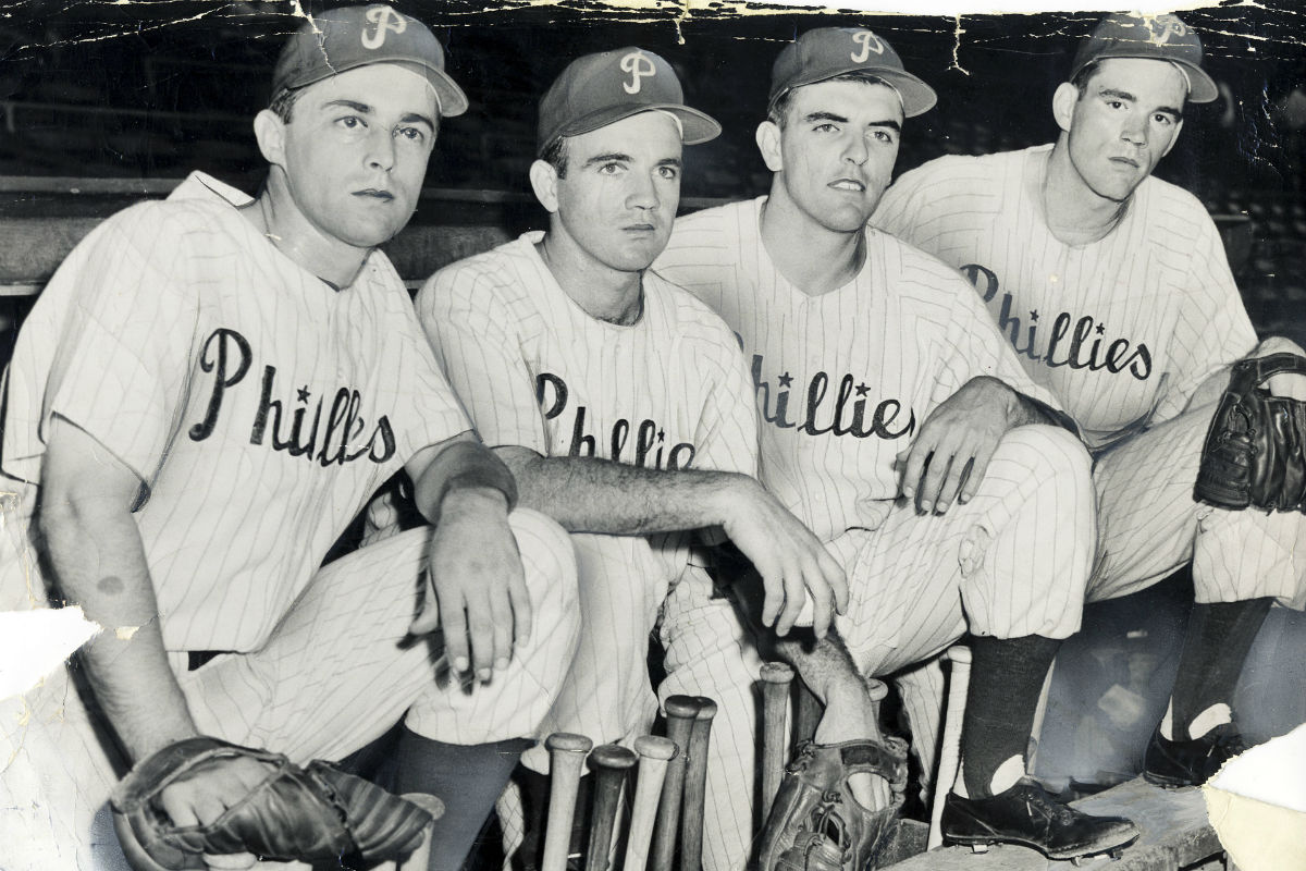 1950 did a phillies fan rob a yankees pitcher during a world series