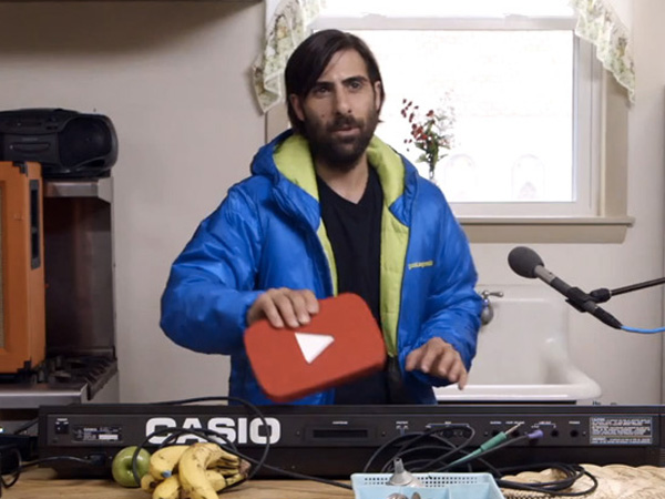 YouTube Music Video Awards´ host Jason Schwartzman.