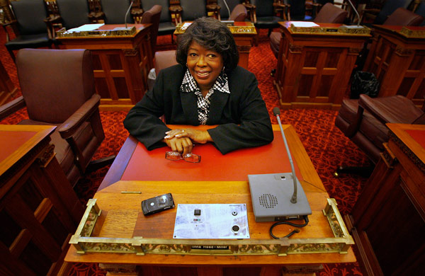 Philadelphia City Councilwoman Donna Reed Miller learned of her Type 2 diabetes about 15 years ago. (Alejandro A. Alvarez / Staff Photographer)