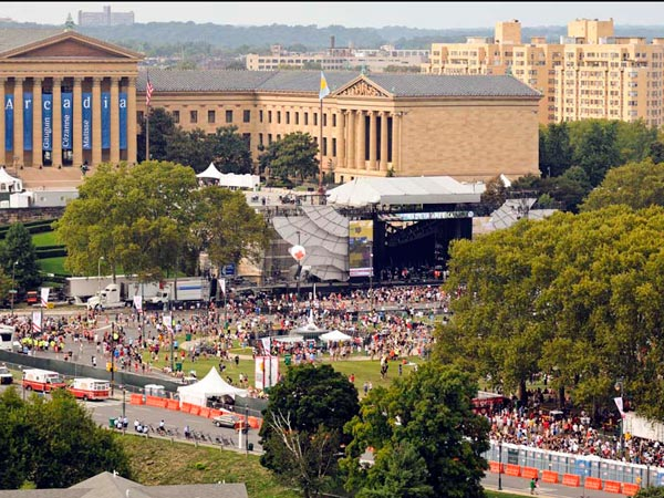 Made In America will change traffic patterns around the Art Museum area. (Ron Tarver / file photo)