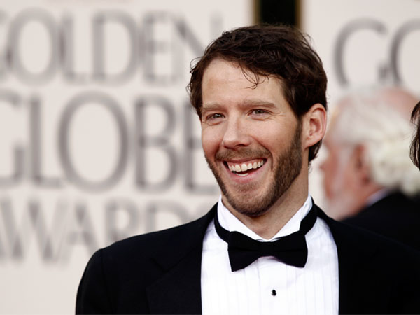 "Aaron Ralston, the hiker whom the film ""127 Hours"" is based on, arrives at the Golden Globe Awards Sunday, Jan. 16, 2011, in Beverly Hills, Calif. Over the weekend, Ralston was charged in a domestic assault case. (AP Photo/Matt Sayles)"