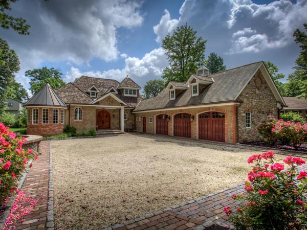 This European-inspired home in Springfield Township is on the market for $1.7 million.