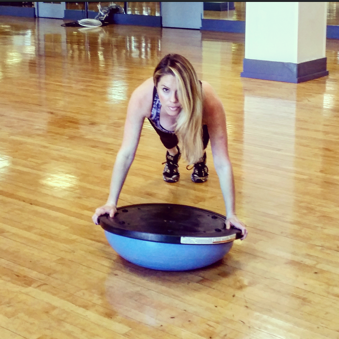 Bosu Ball Burpee Jump: Go Bosu Balls To The Wall With This Total-body Workout