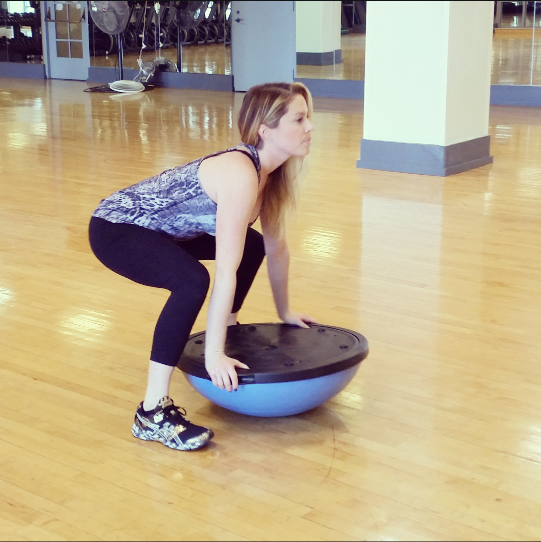 Bosu Ball One Leg Squat: Go Bosu Balls To The Wall With This Total-body Workout