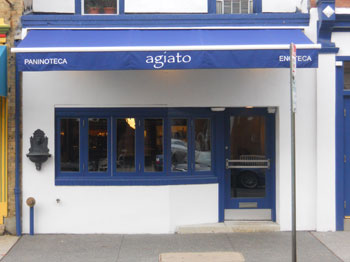Agiato occupies a former boutique.