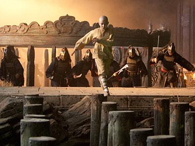 """Noah Ringer stars as Aang in """"The Last Airbender."""""""