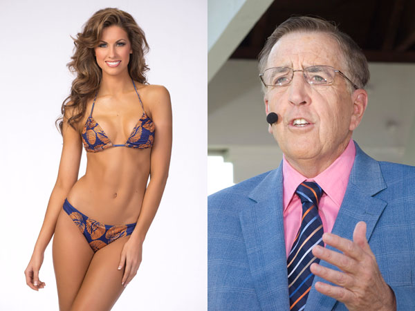 ESPN´s Brent Musburger apologized over comments he made about AJ McCarron´s girlfriend, Miss Alabama Katherine Webb.