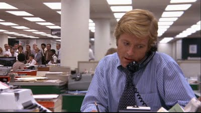 Robert Redford is on the phone.