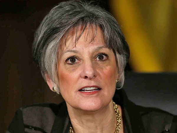 U.S. Rep. Allyson Schwartz, earning national acclaim for campaigning as a champion of the Affordable Care Act, suggested Wednesday that her rivals for the Democratic nomination for Pennsylvania governor were soft in support of President Obama's signature law. (File photo)