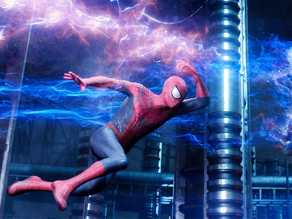 """Andrew Garfield is the title character in """"The Amazing Spider-Man."""""""