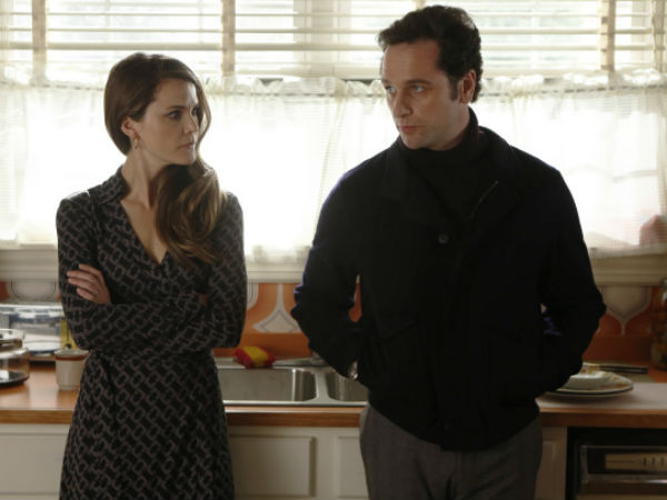 "Keri Russell and Matthew Rhys play Russian spies living undercover in Reagan-era Washington, D.C., in FX´s ""The Americans"""
