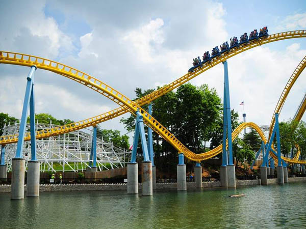Hershey Park, in Hershey PA, has 11 roller coasters. (courtesy photo)