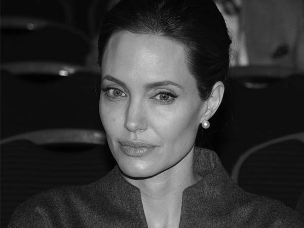 Angelina Jolie, End Sexual Violence in Conflict conference held at Excel.