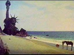 "The fadeout of the 1968 ""Planet of the Apes"""